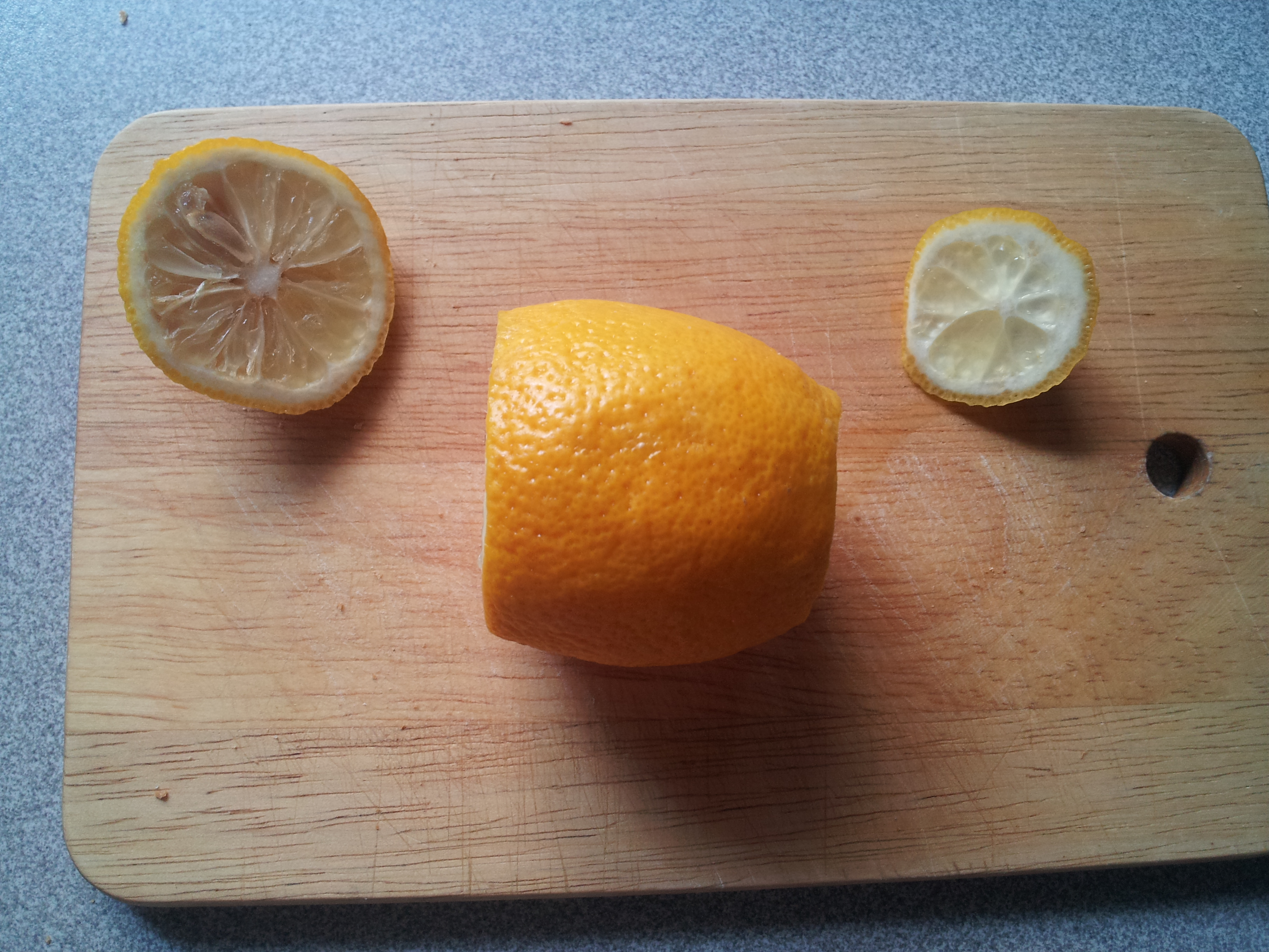 Zitronenkopf Shisha Anleitung Schritt 1