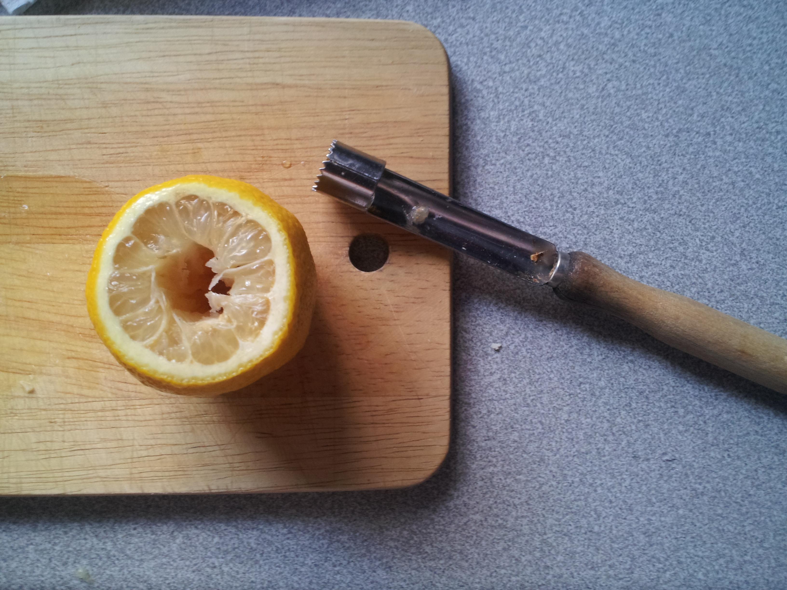 Zitronenkopf Shisha Anleitung Schritt 2