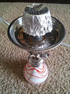 Zitronenkopf Shisha Anleitung Schritt 8